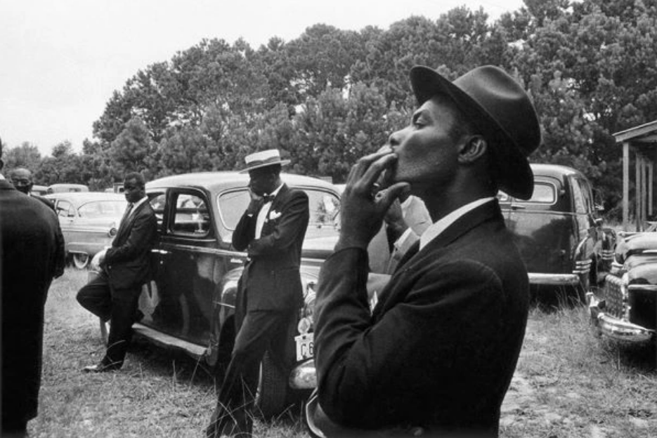 Funeral, St. Helena, South Carolina - 1955 ©Robert Frank, courtesy of the Pace/McGill collection