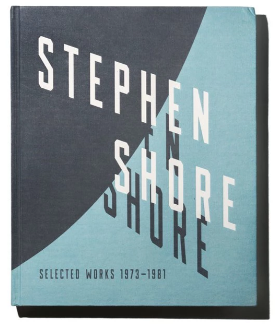 Stephen Shore,《Selected Works 1973 - 1981.》出版社:Aperture,272頁,150張圖片。