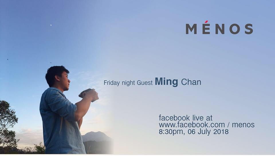 - 很榮幸我們能夠邀請到Ming Chan分享他的即影即有和寶麗來的攝影創作心得。說到香港的寶麗來攝影愛好者,Ming 可説是當中的的表表者,無論重曝,疊相等技巧,都有他個人的心得和特色。喜歡寶麗來的朋友不要錯過今次的分享會。[詳情]主持:Stephen Leung / Ménos時間:6 July 2018, 8:30pm - 10:30pm地點:香港銅鑼灣渣甸坊3號蓮福商業大廈9A(銅鑼灣地鐵站F1出口旁)