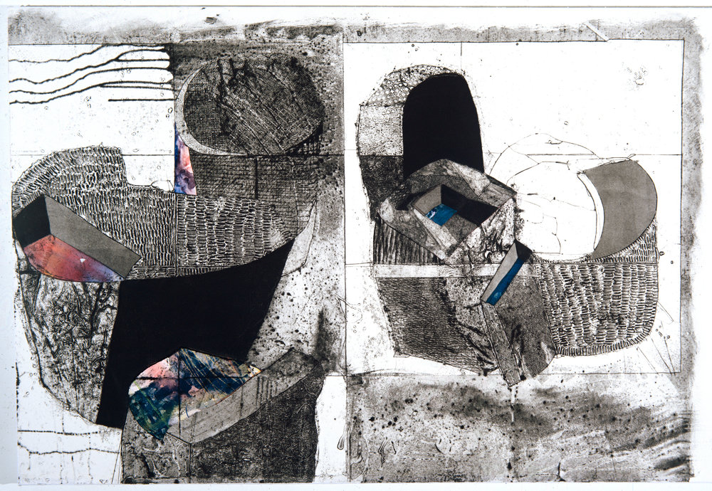 Collagraph on paper - 1996