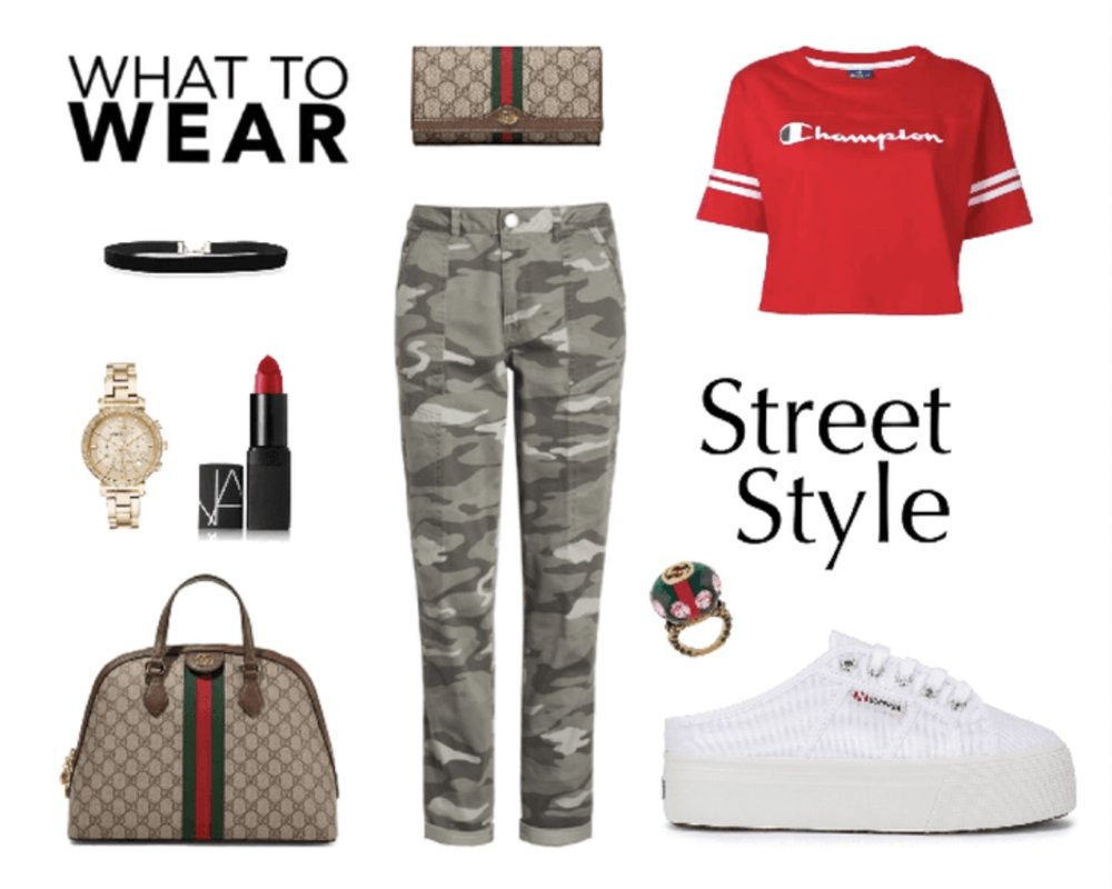 Casual Camouflage Jeans Outfit to wear Everyday