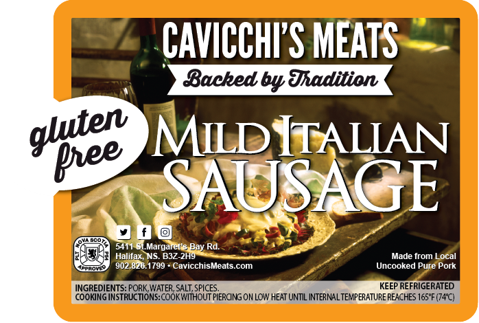 MILD ITALIAN SAUSAGE - A wonderfully versatile option.