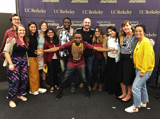 Great screening of #SurvivorsFilm at the J school @berkeleyjournalism. Thank you @saminstagrant for hosting us and for your amazing contribution to this project and collaboration. #AfricaRising #WeOwnTV #FreetownMediaCentre