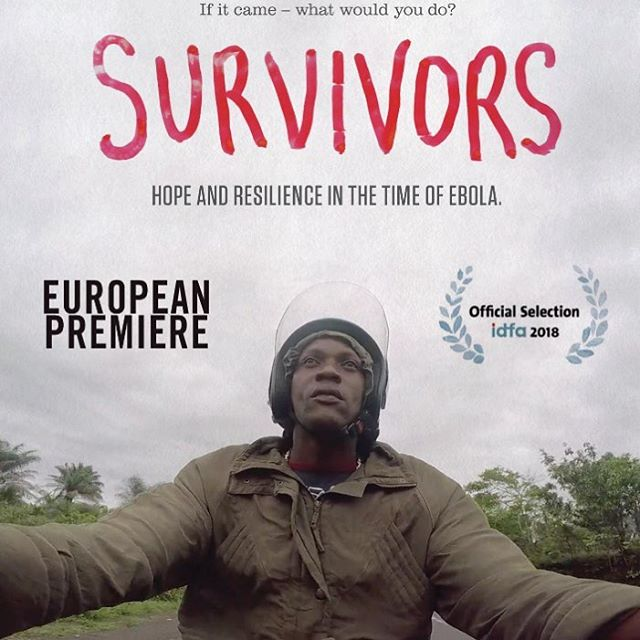 Please join us for the European Premiere of SURVIVORS at IDFA the International Documentary Festival of Amsterdam this Friday, Nov 16 5:45pm at Munt Theater.  Directors Banker White and Arthur Pratt will be in attendance.  It was just four years ago that Arthur Pratt and the filmmakers of the WeOwn TV Freetown media center  were busy producing life saving public health messaging and filming in Ebola infected communities, documenting the heroic actions of Sierra Leonean nationals on the frontlines of the battle against Ebola. We are so proud of their incredible work and are excited to be able to share this powerful and beautiful film with an ever expanding audience.  If you are going to be at IDFA please come out and see the film!  Additional screening times here:  https://www.idfa.nl/en/film/9dc31458-dec4-48be-9eb9-930ecefa179b/survivors  SURVIVORS has also been nominated for the prestigious Amsterdam Human Rights Award.  #AfricaRising #Survivorsfilm #SurvivorsFilmPBS