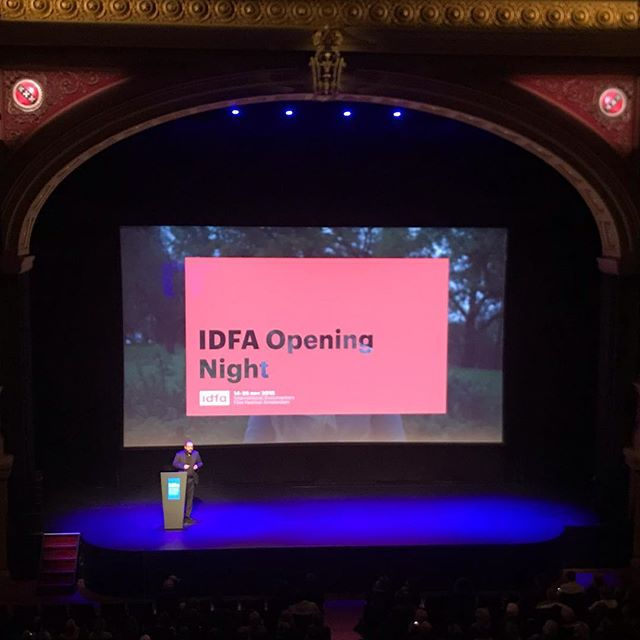 Inspiring words from Orwa Narabia before the beautiful Kabul City in the wind to open #IDFA2018 #Pluralism & #inclusion 'artistic freedom is the antidote to lies and deceit. Celebrate partner with new talent. They Help us see hope in a more open heated manor.""