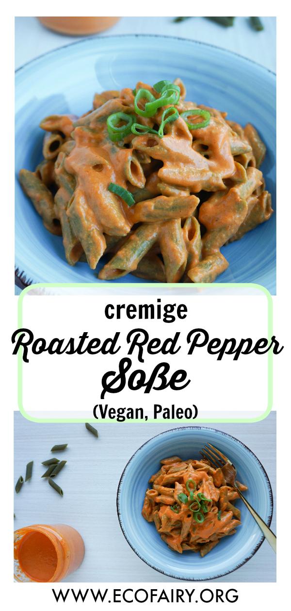 cremige Roasted Red Pepper Soße Vegan Paleo Pin.jpg