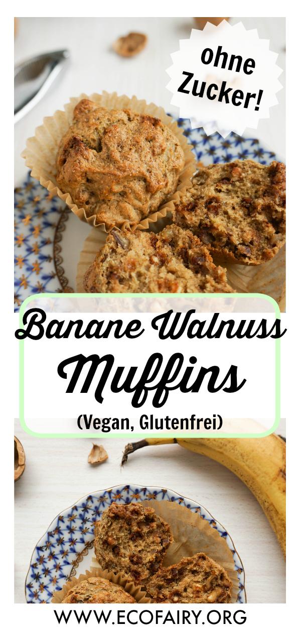 Banane Walnuss Muffins (Vegan, Glutenfrei) Pin.jpg