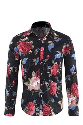 Stylish slim fit Floral shirt -