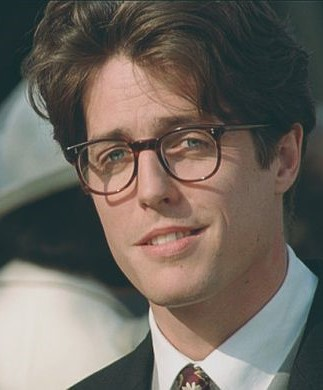 Hugh Grant in the role he has played since 1994.