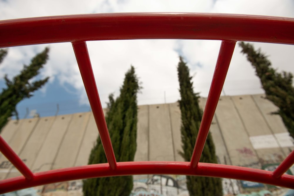 Playground at Wi'am Conflict Resolution Center, Bethlehem
