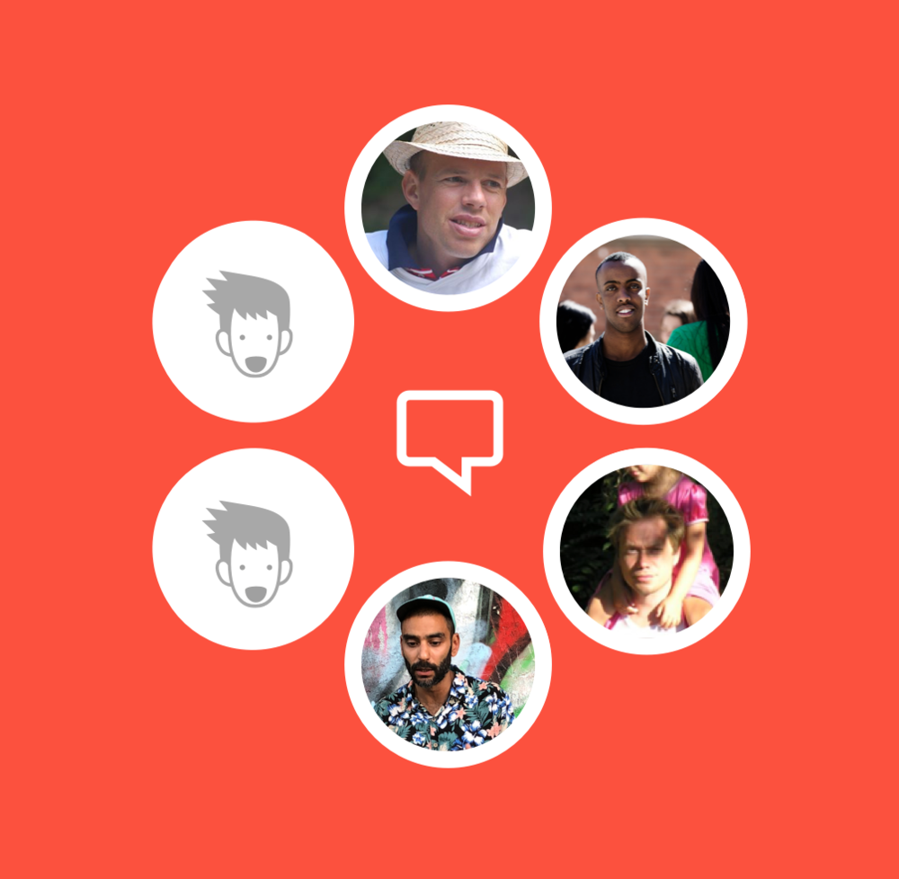 En social app