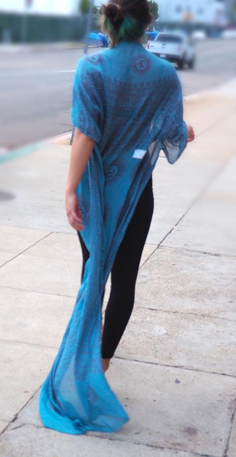 sanskrit kimono
