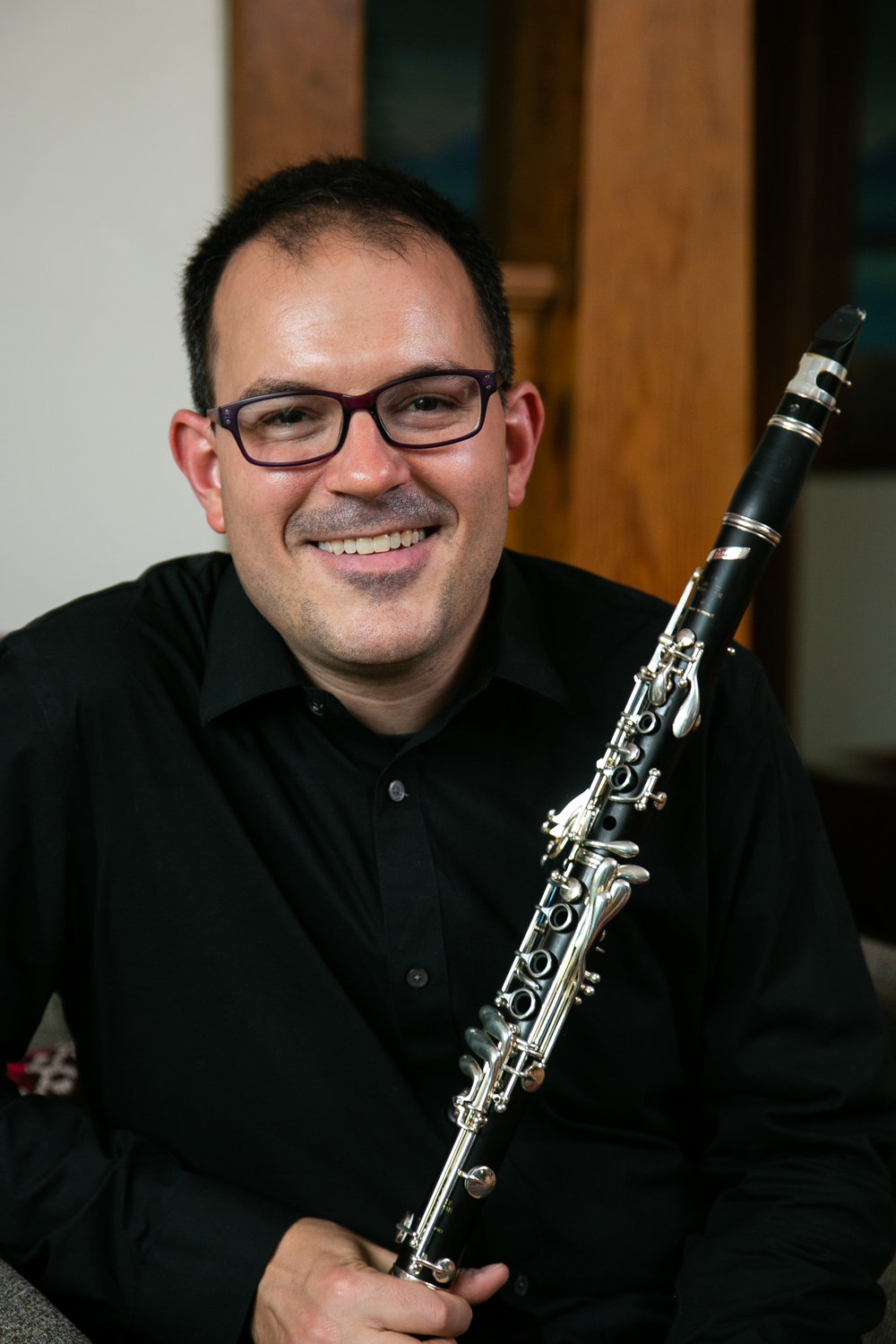 Louis DeMartino, clarinet