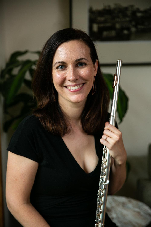 Sarah Tiedemann, flute