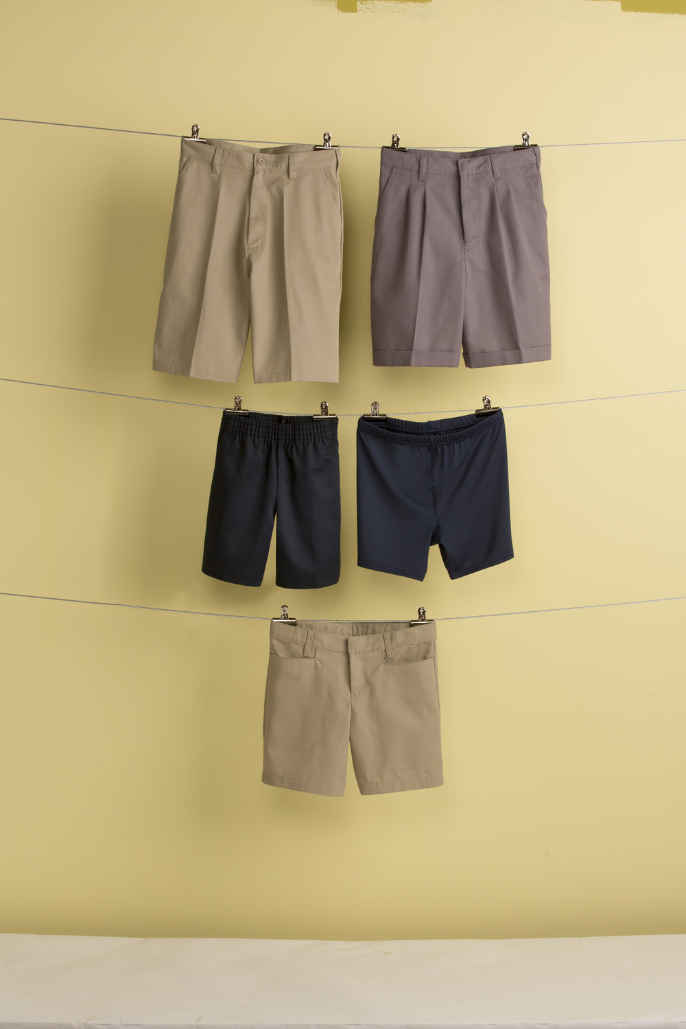 THE STUDENT SHOP - SHORTS AND PANTS