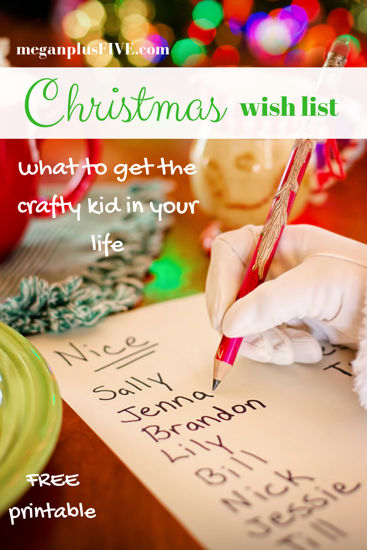 Christmas wish list, 100 gift ideas to get the CRAFT obsessed kid in ...