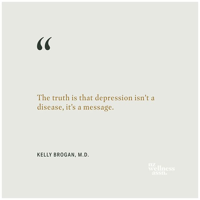 There's not one single cause of depression, rather, a number of contributing factors that can look very different for different people.  Depression could be a perfectly normal response to a traumatic event, or it could be the result of excessive stress, nutrient deficiencies, food allergies, lack of movement, being out of alignment with our purpose, loneliness, the list goes on.  If we can instead see depression as an invitation to explore the underlying reasons, it can be the foundation of profound healing.⠀ -⠀ -⠀ -⠀ -⠀ -⠀ -⠀ #mentalhealth #mentalwellness #mentalhealthawareness #depression