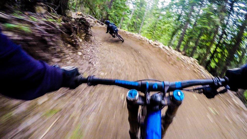 Downhill biking, best trails, best guides in the West Kootenays.