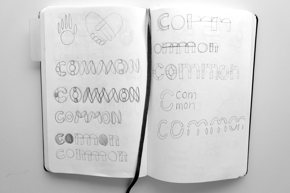 Journal exploration for the common logo.