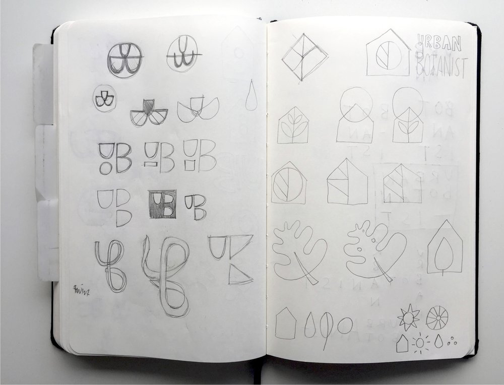 Initial journal sketches