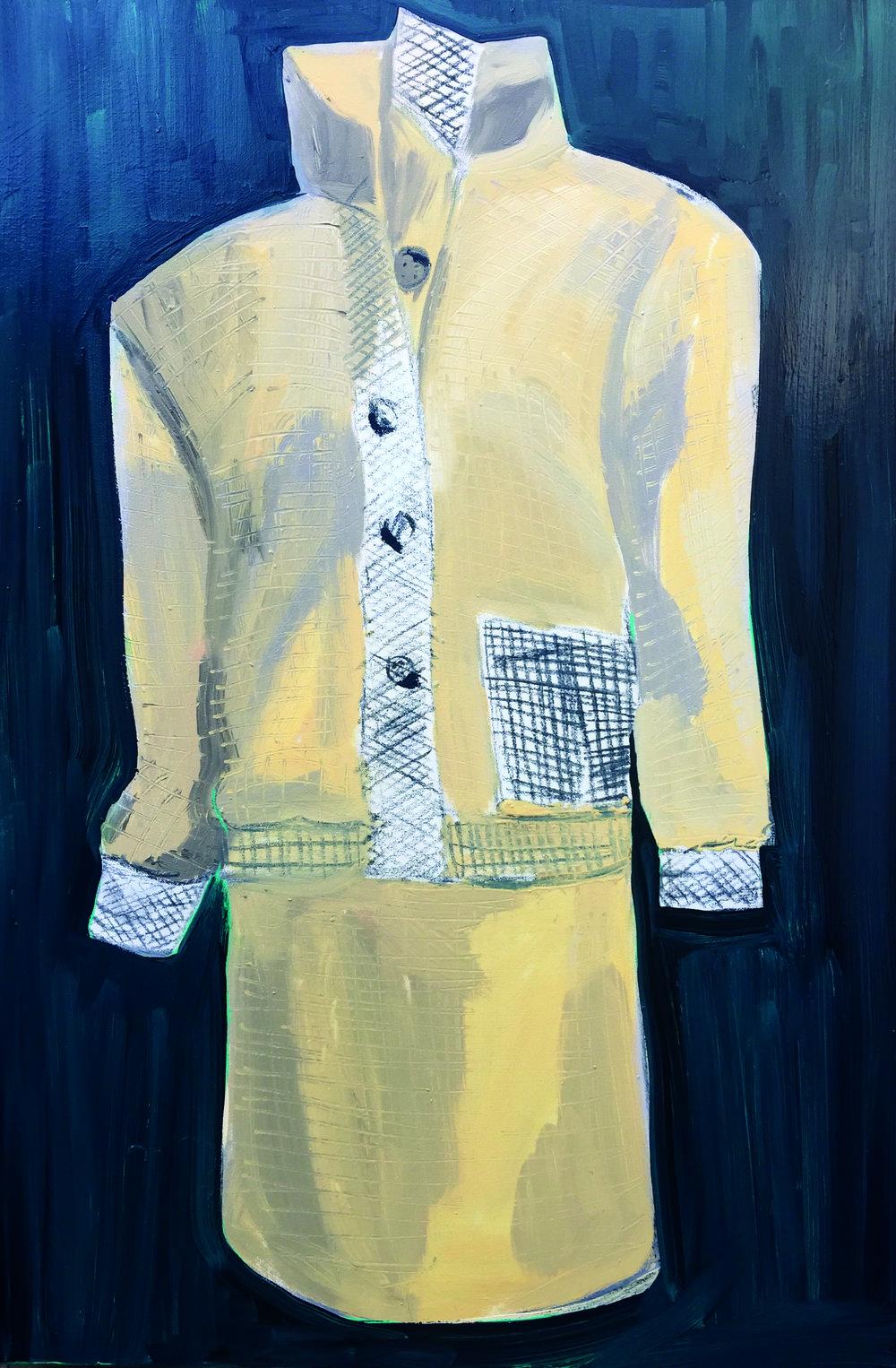 Brown tweed wool day suit. Worn: on honeymoon, Balmoral, Scotland, 1981 Bill Pashley, 1981