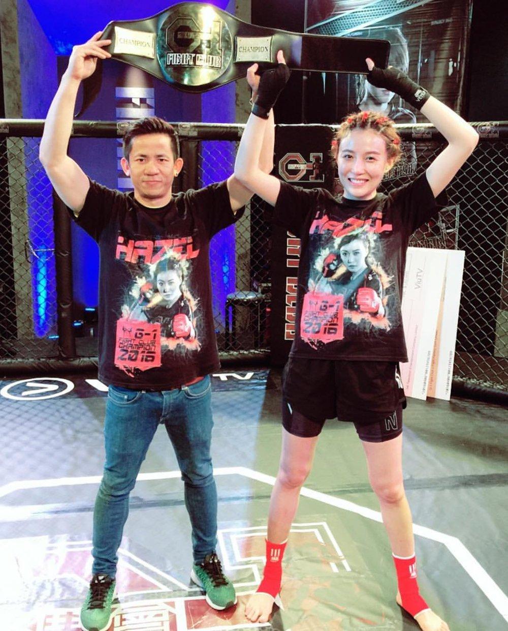 Fantasy _ Hazel Tong on ViuTV G1 Fight-1.jpg