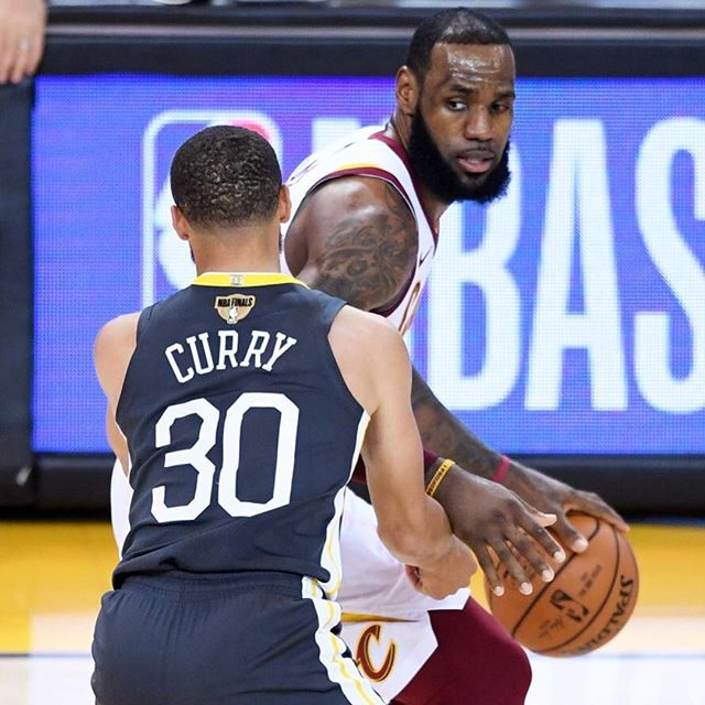 Best player of all-time guarding some Cavs player