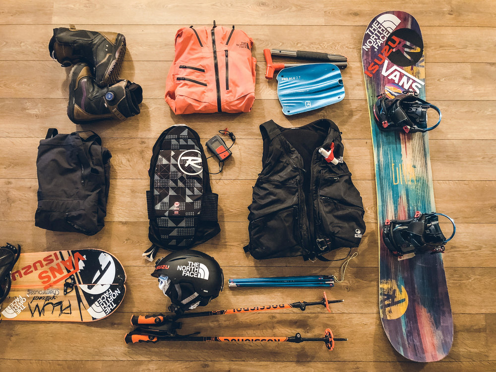 Materiel snowboard Marion Haerty