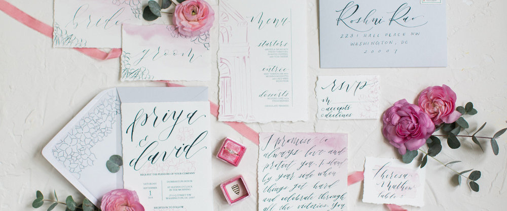 Wedding Stationery - Meghan Marie Photography