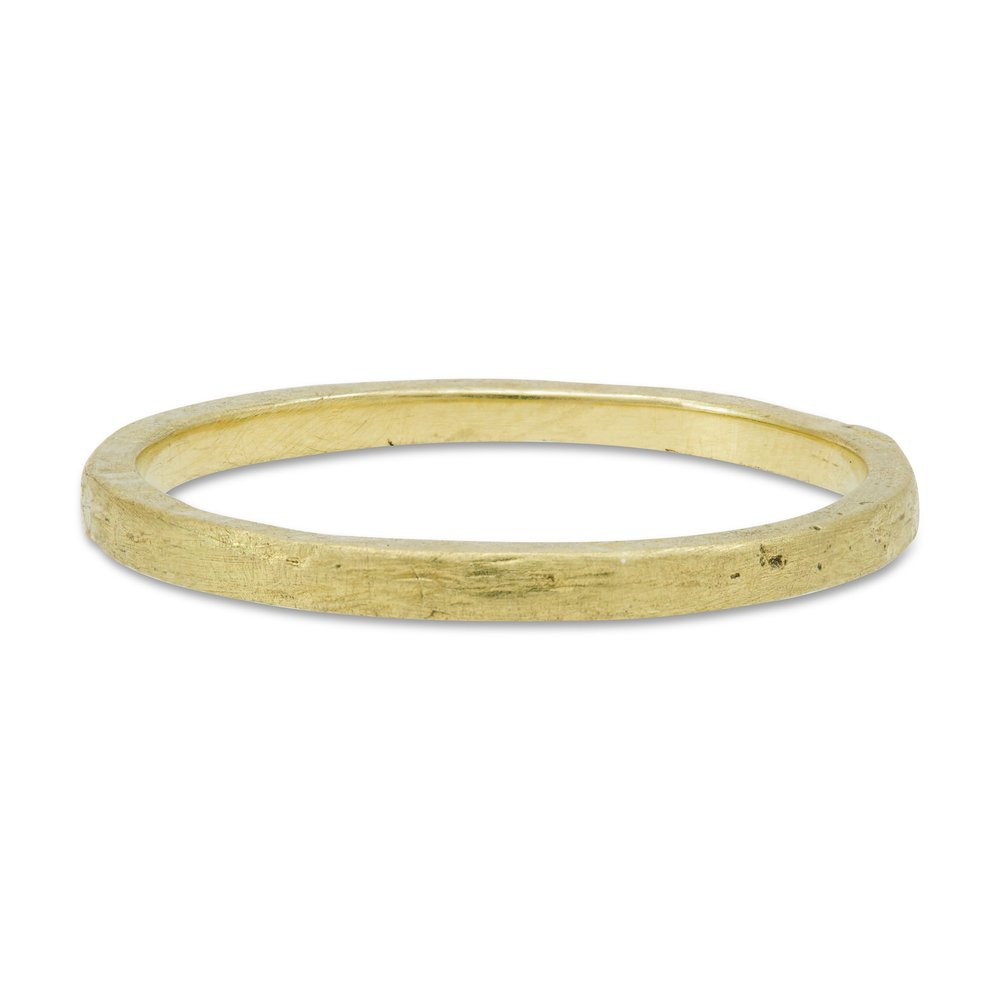 <h3>petite brushed stack band</h3>