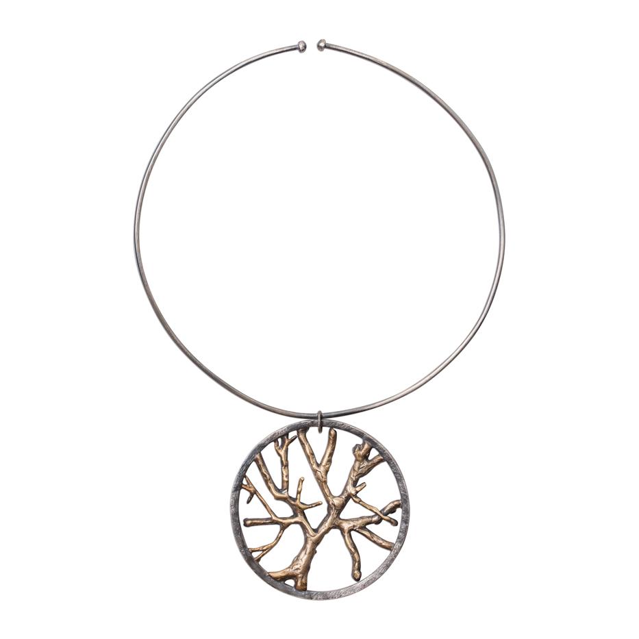 <h3>branch medallion cuff</h3>