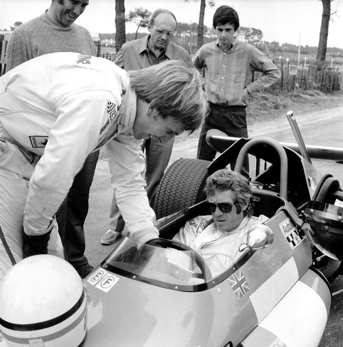 Famous US movie star Steve McQueen (1930-1980) (Th