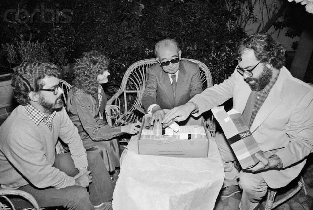 Akira Kurosawa Receiving Gifts
