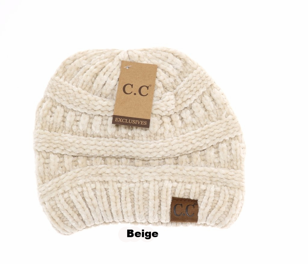 41ee8ca4274 Fedora Joes LLC-Solid Classic Chenille CC Beanie HAT30 (13 colors  available)-CC Beanies