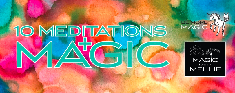 Join us in the sacred space of my private FB Group, 10 Meditations + Magic . Every Wednesday I broadcast a live 10 Meditations Clearing session (for 30-60 minutes) and it's FREE to you!