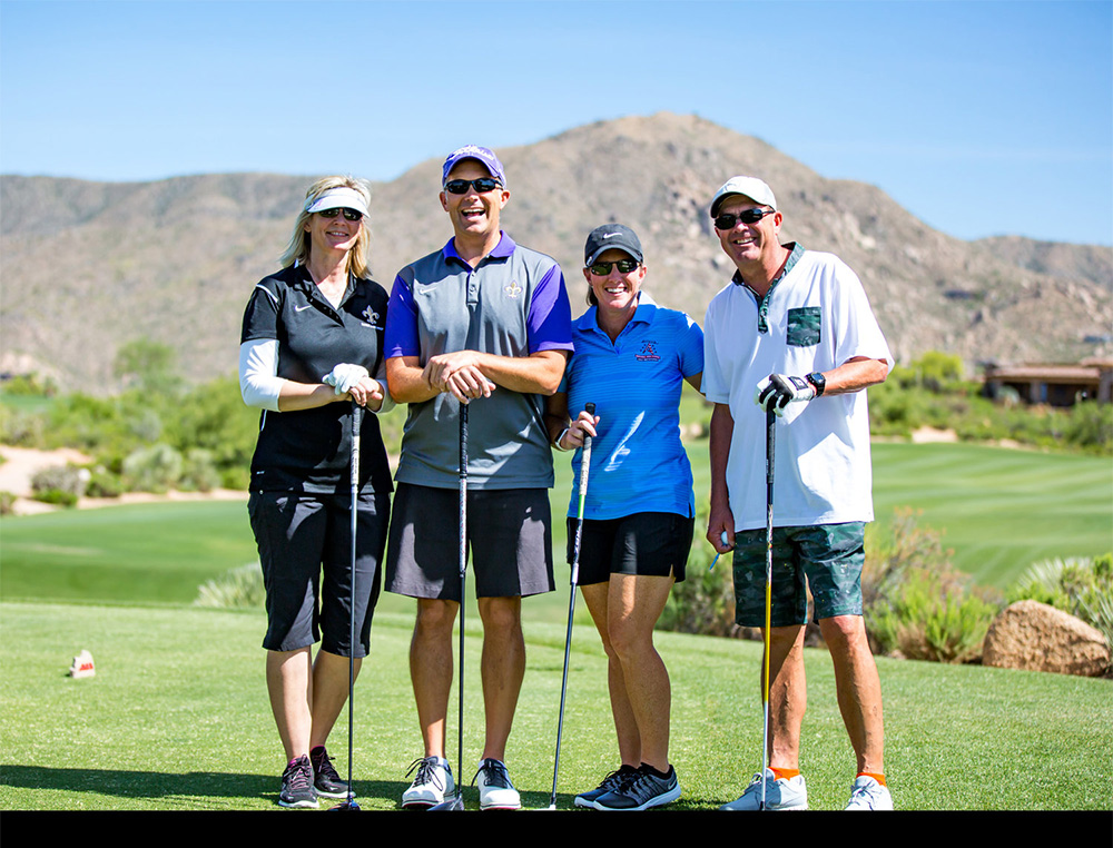 Get out your clubs and join us for an awesome day of golf, sun and fun!