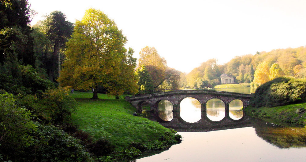 The lake at nearby Stourhead estate -  photo by Ian Wilson