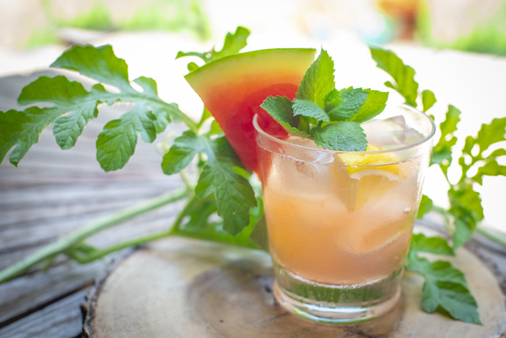 Fresh watermelon mint refresher is perfect for the Florida hot Florida Summer