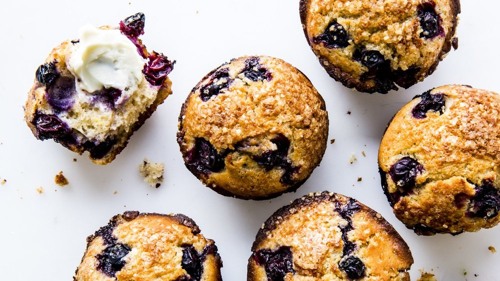 BA's Best Blueberry Muffins