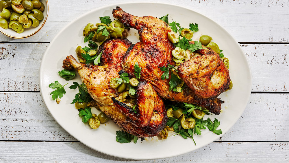 Spicy Herb Marinated Grilled Chicken