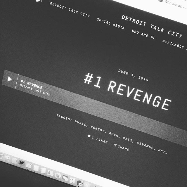 #1 Revenge. Our first episode is live and we are so excited. You can check it out on Apple Podcast, Google Play and at our website https://www.detroittalkcity.con