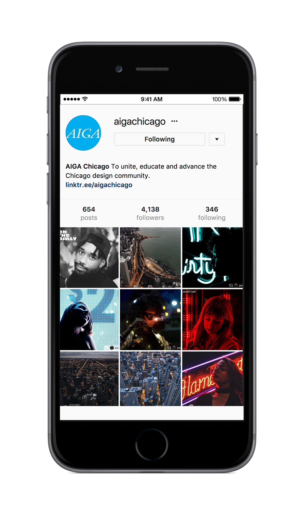 Click  here  to browse through AIGA Chicago's Instagram Feed