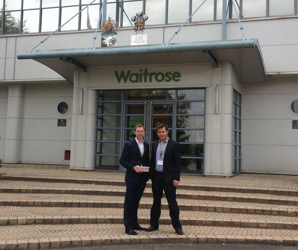 Harry & Charlie Thuillier Waitrose