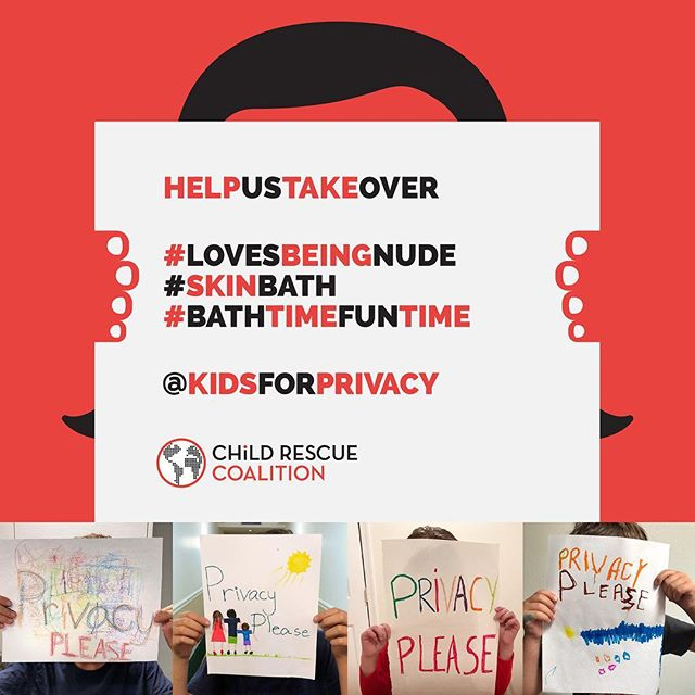 Create your Privacy Please sign and post it using one of the hashtags that make kids vulnerable to pedophiles. Follow @childrescuecoalition and help us to protect children's innocence.  #lovesbiengnude #sinkbath #bathtimefuntime  #kidsforpivacy  #childrescuecoalition #privacyplease