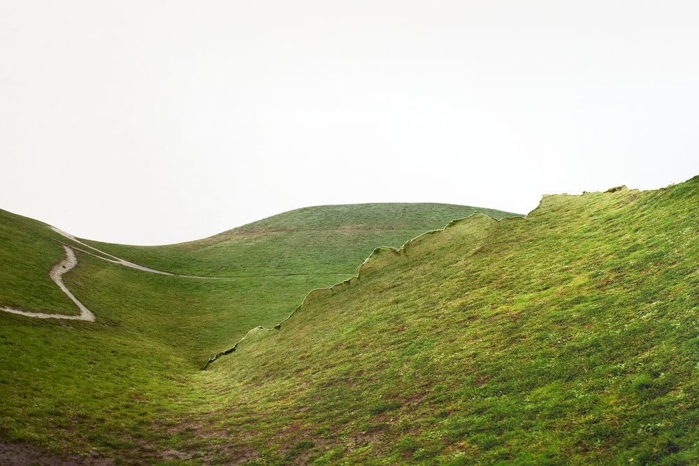 Laura Plageman,  Response to Green Hill, Washington , 2010  Digital pigment print, 9.3 x 14 in, edition of 10   Inquire