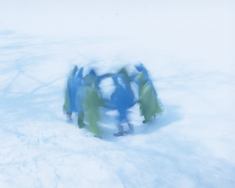 Osamu Yokonami,  Assembly Snow 8 , 2015  Digital pigment print, 944 x 1159 mm (approx. 37 x 46 in), edition of 3; 554 x 680 mm (approx. 22 x 27 in), edition of 7  Special edition: 267 x 330 mm (10.5 x 13 in), edition of 10   Inquire