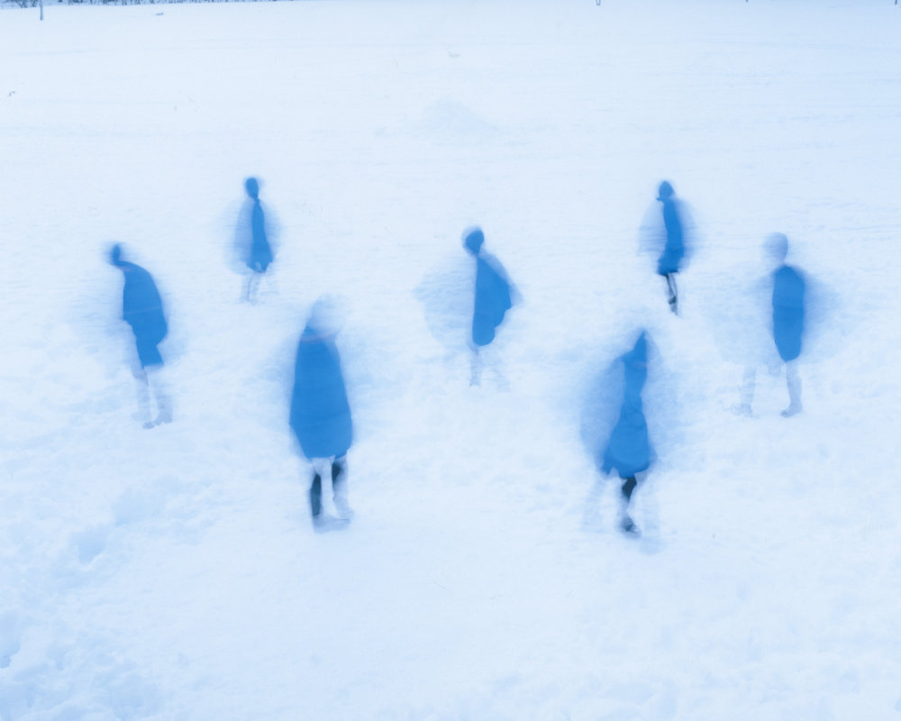Osamu Yokonami,  Assembly Snow 14 , 2015  Digital pigment print, 944 x 1159 mm (approx. 37 x 46 in), edition of 3; 554 x 680 mm (approx. 22 x 27 in), edition of 7  Special edition: 267 x 330 mm (10.5 x 13 in), edition of 10   Inquire