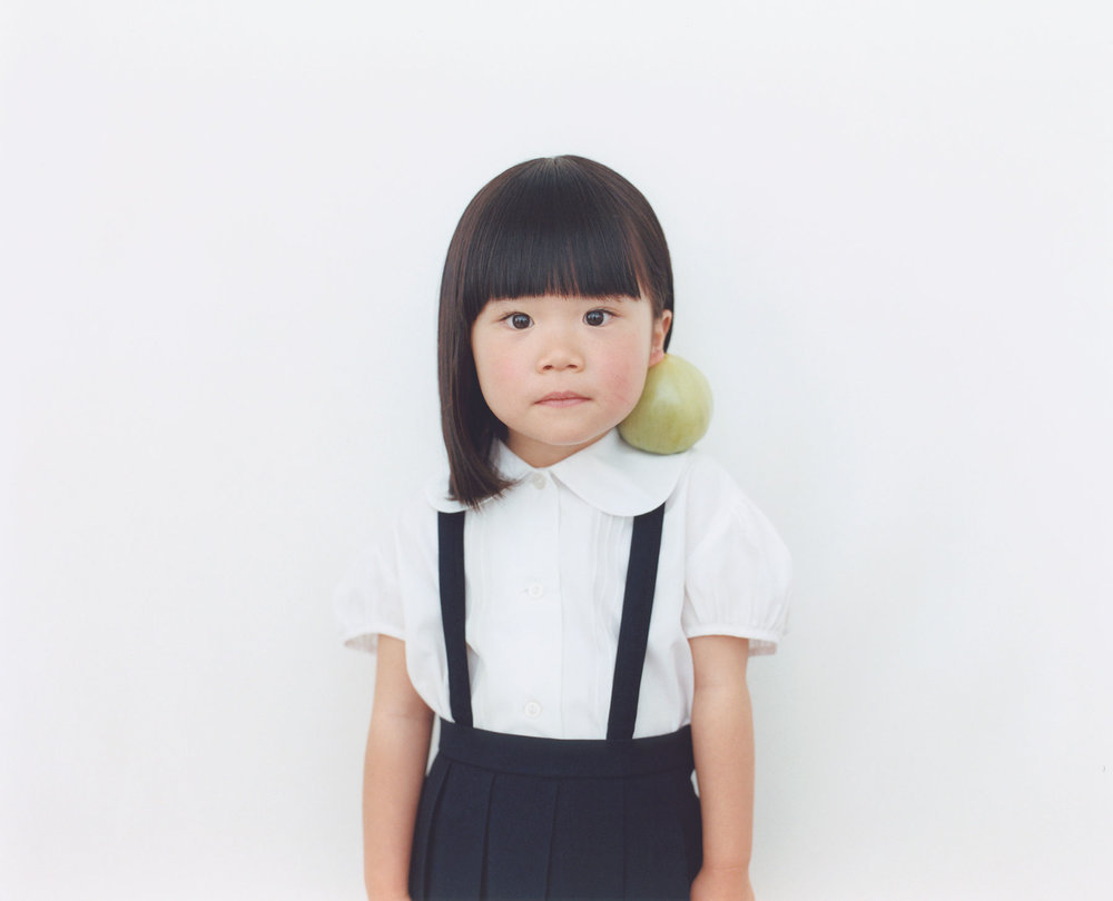 Osamu Yokonami,  1000 Children: Green Tomato No. 54 , 2010-2013  Digital pigment print, 895 x 1105 mm (approx. 35 x 43.5 in), edition of 5; 146 x 168 mm (approx. 5.75 x 6.6 in), edition of 10   Inquire