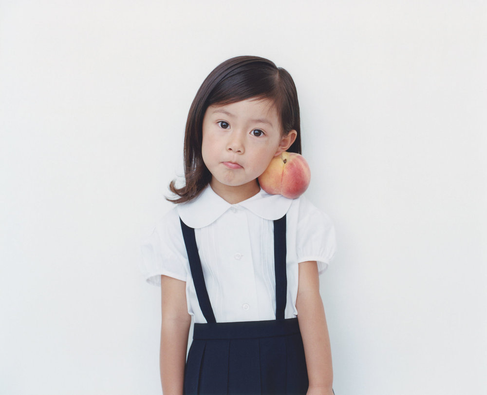 Osamu Yokonami,  1000 Children: Peach No. 60 , 2010-2013  Digital pigment print, 895 x 1105 mm (approx. 35 x 43.5 in), edition of 5; 146 x 168 mm (approx. 5.75 x 6.6 in), edition of 10   Inquire