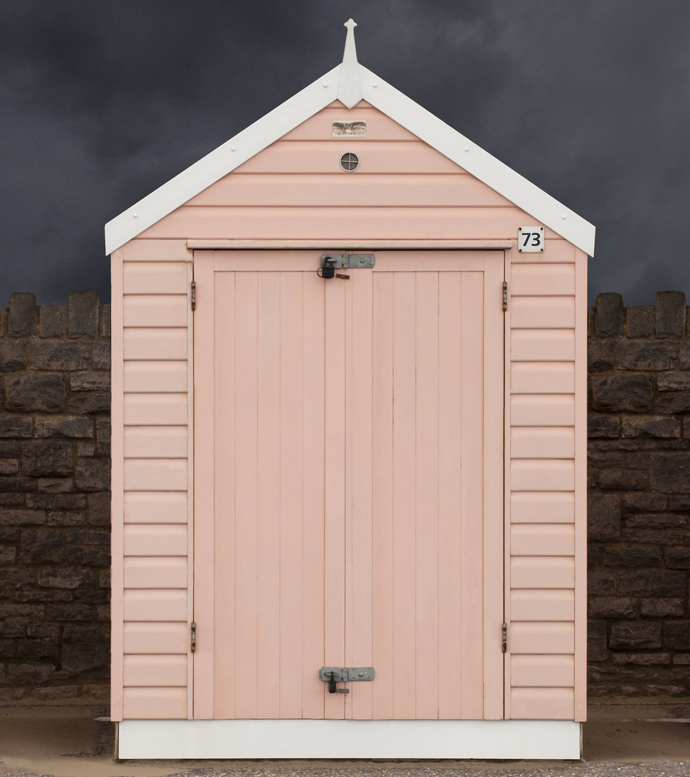 Judy Gelles,  Beach Hut No. 73 , 2015  Digital pigment print, 9 x 8 in, edition of 10; 18 x 16 in, edition of 10   Inquire